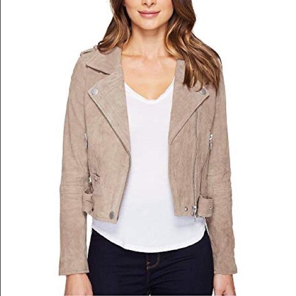 Blank NYC Jackets & Blazers - BlankNYC Suede Jacket in Sand Stoner large.